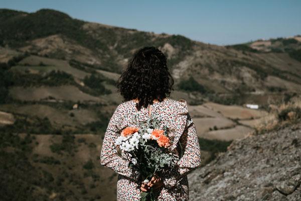 Matrimonio pagano nella natura