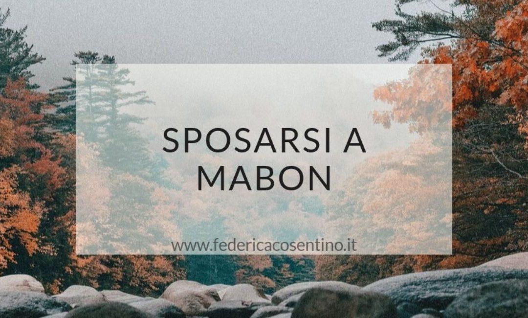 Sposarsi a Mabon