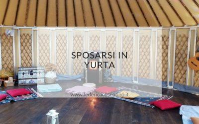Sposarsi in yurta